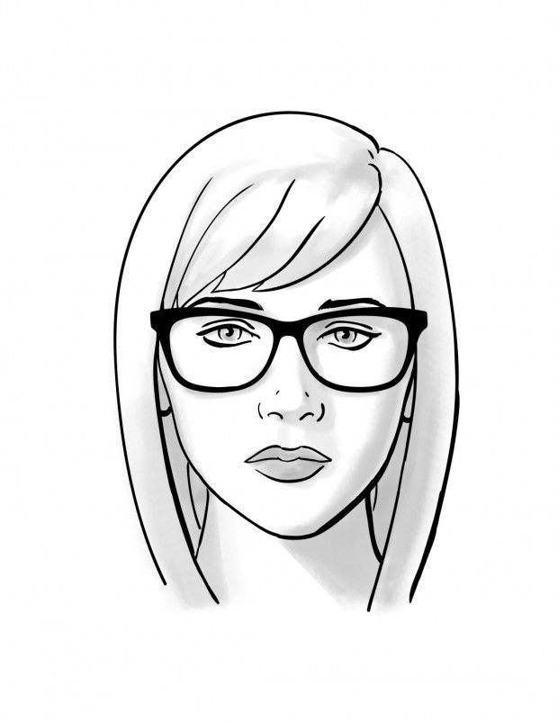 9d32aa6db73 How To  Choosing Glasses for Oval Face Shapes -