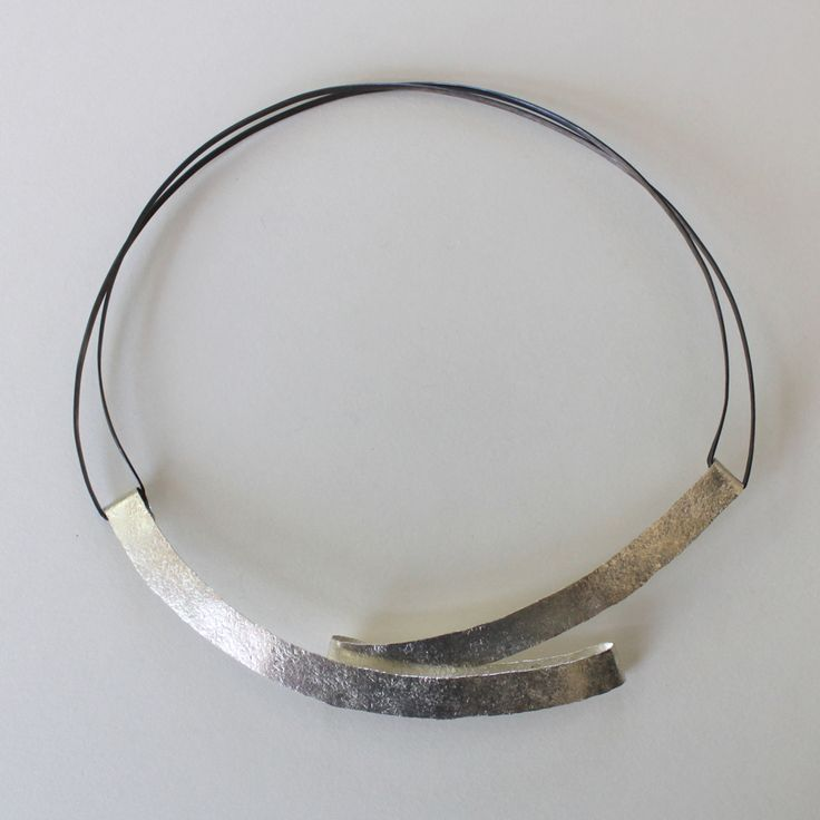 Necklace| Reiko Ishiyama.  Sterling silver