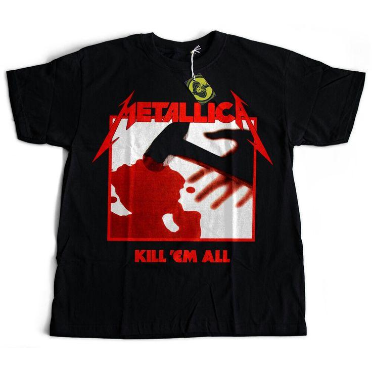 Camiseta Metallica - Kill 'Em All