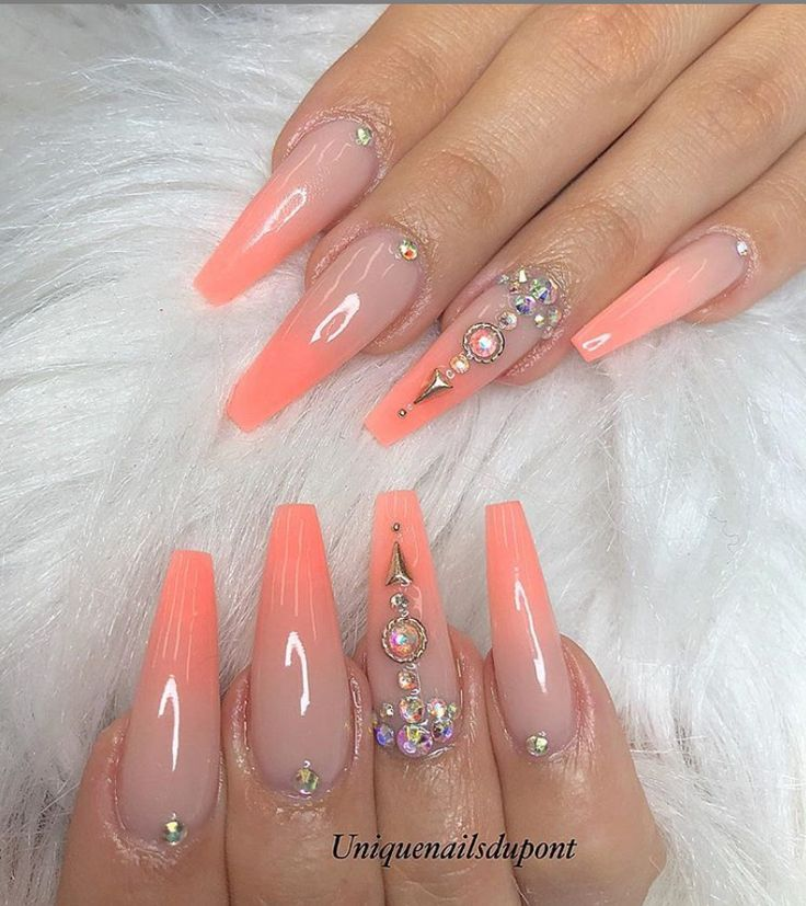 78 Hottest Classy Acrylic Coffin Nails Long Designs For Summer
