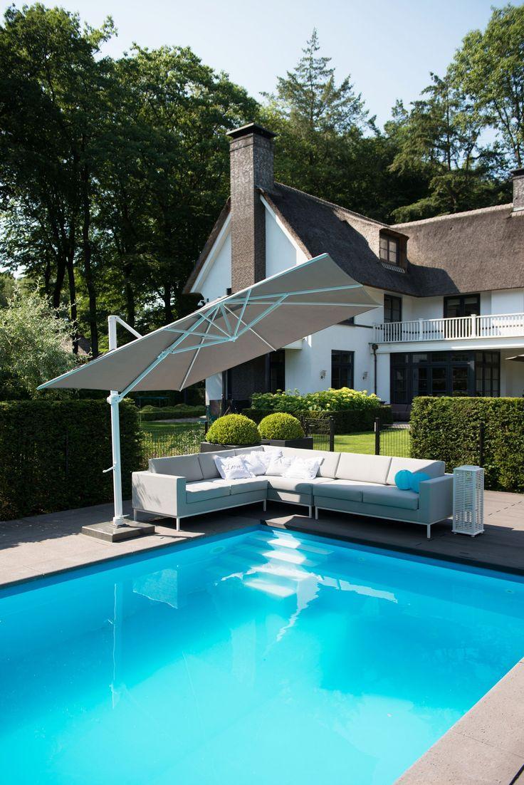 die 25 besten ideen zu sonnenschirm balkon auf pinterest terrasse sonnenschirme sonnenschirm. Black Bedroom Furniture Sets. Home Design Ideas