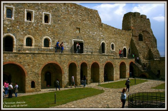 Neamt fortress, one of the great bastions of Moldova. It is strongly connected to the most important ruler of Moldova, Stefan cel Mare.