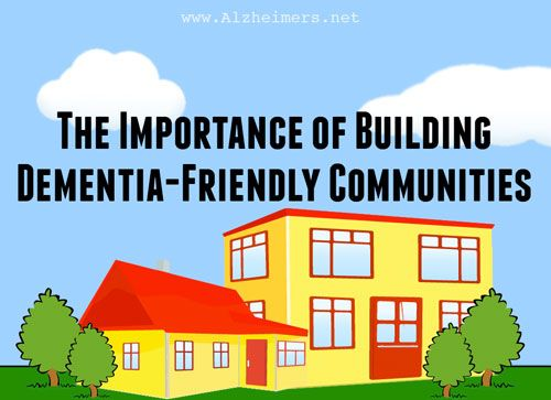 1/3 of people with dementia feel let down by their local communities.