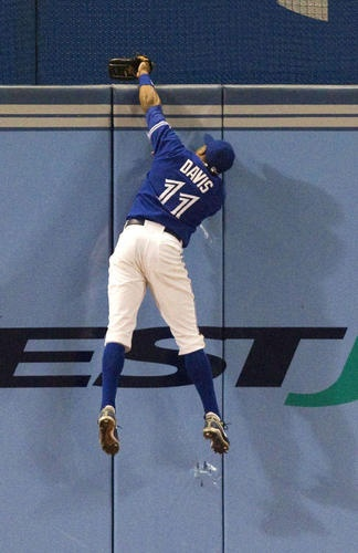 Will Rajai Davis be back with the Toronto Blue Jays? #baseball