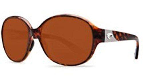Costa Del Mar Blenny Sunglasses, Tortoise, Copper 580P Lens