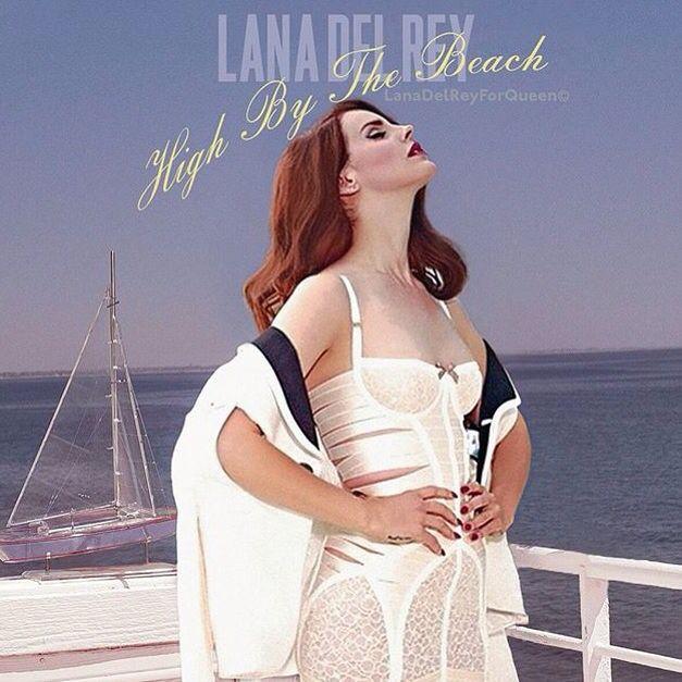 Lana Del Rey #LDR #Honeymoon #HighBythebeach