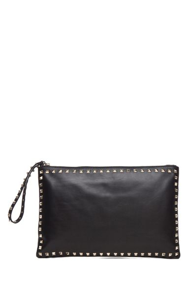 Leather Statement Clutch - PinkBag by VIDA VIDA qXtcCsAvMb