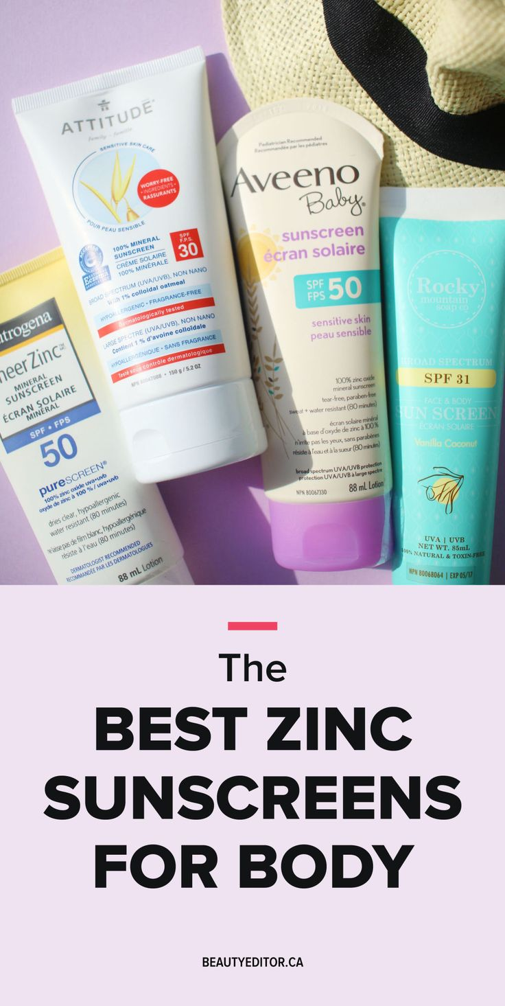 14 of the Best High-Zinc Sunscreens for Your Body | Beautyeditor