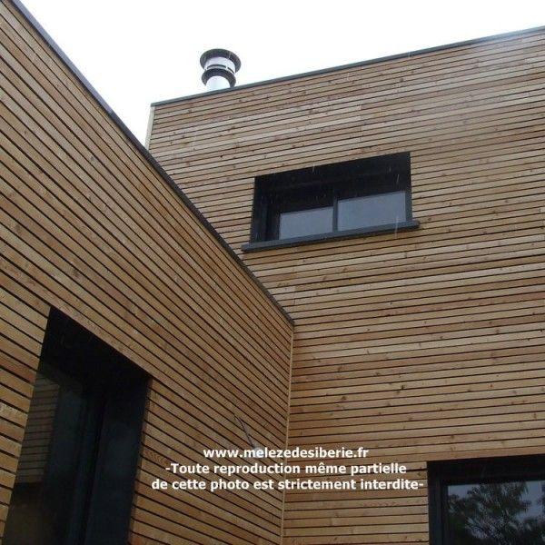 1000+ötlet a következőről Bardage Claire Voie a Pinteresten Bardage facade, Mél u00e8zeés  # Bardage Bois Claire Voie Horizontal