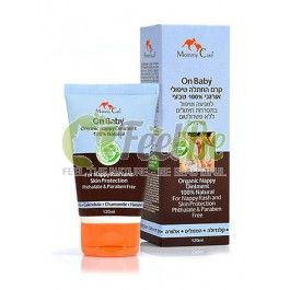 Mommy Care On Baby diaper rash cream, 120 ml: Mommy Care: Organic On Baby diaper rash cream is made from 100% natural organic ingredients and is intended to protect areas of the skin exposed to regular exposure to irritating physiological substances and to prevent diaper rash. Mineral oil and Parabens Free.