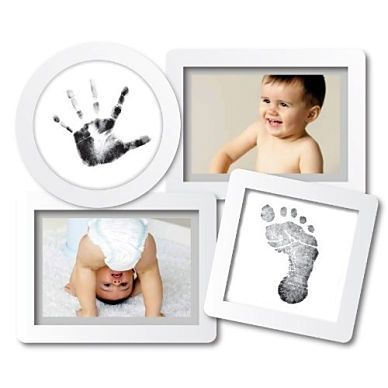 Pearhead Photo Frame - Photo & Baby Hand and Foot Print