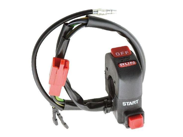 Scooterkay Angebote Schaltereinheit Anlasser Zündunterbrecher / Start Stop Kill Switch universal: Category: Elektrik > Relais &…%#Scooter%