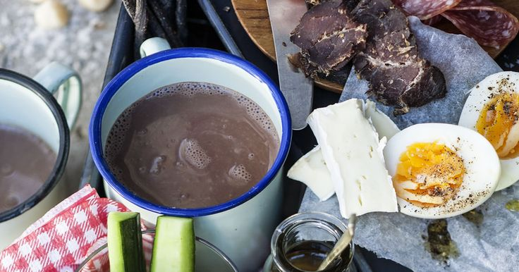 This banting Cocoa is very easy to make. Who said you couldn't have a delicious hot drink when banting?