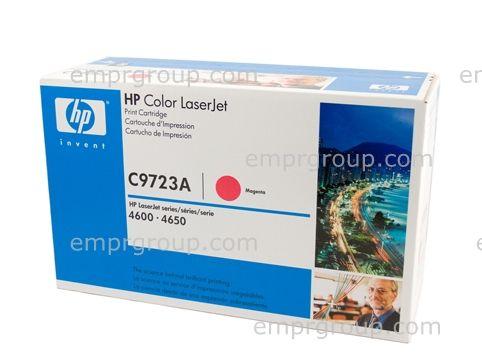 Magenta toner cartridge - For the Color LaserJet 46XX series printers