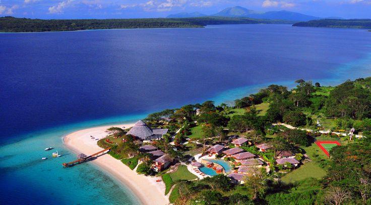 Located at Samoa Point on Havannah Harbour, Efate, Vanuatu... what a fabulous spot ! www.thehavannah.com