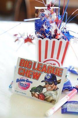 Red Bird Events: Baseball Themed First Birthday