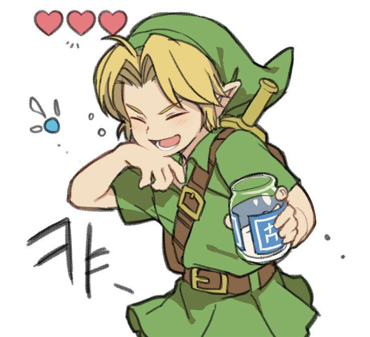 The Legend of Zelda: Ocarina of Time, Young Link and Navi / 「zelda log」/「ミンメ」のイラスト [pixiv] [18]