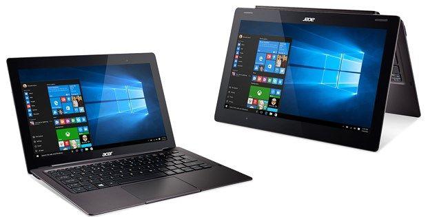 "Acer Aspire Switch 12 S – laptop convertibil cu display 4K de 12.5′"" și port USB Type-C"