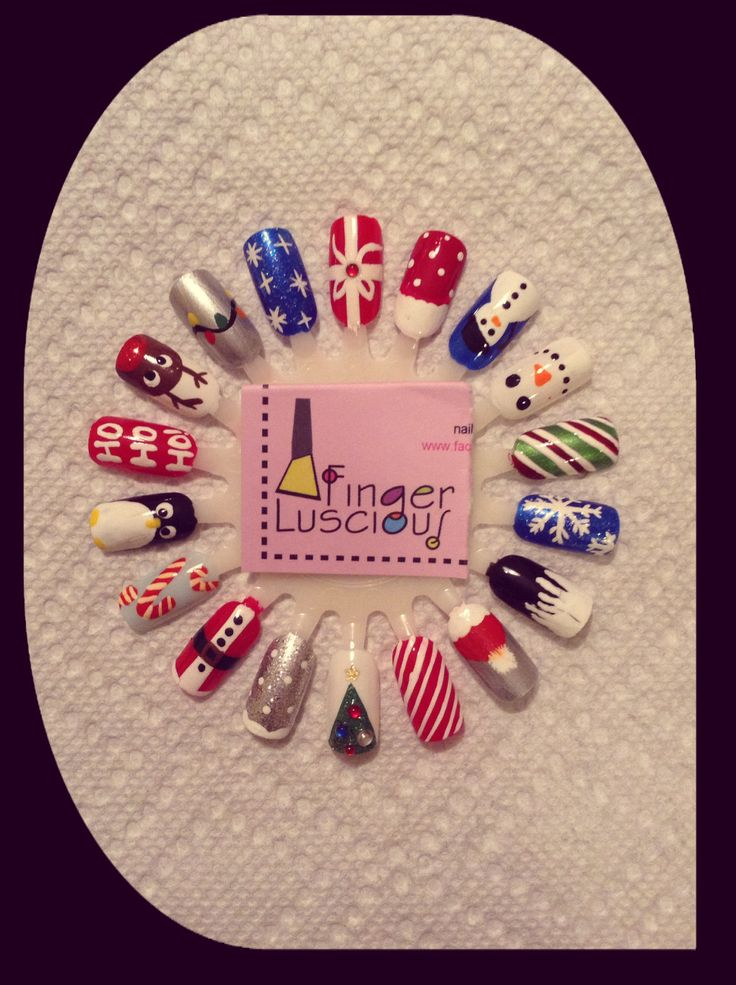 Christmas Nail Art!!