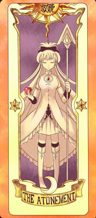 Kyoko as the Atonement | Clow Card | Without Atonement there is no Redemption