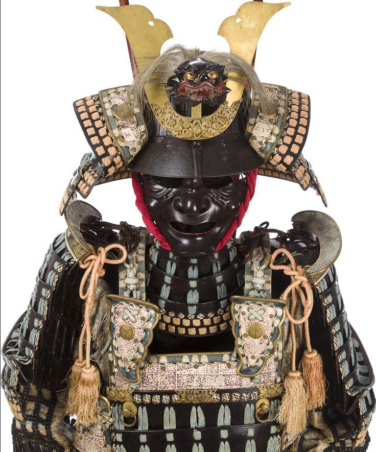 48 plate suji bachi kabuto (helmet), mogami do / dou ...