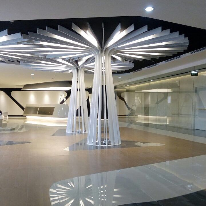 6 Interior Lighting Designs Use To Create An Ambience: Interior Design Sequise Qspace Project Jakarta @ @ @