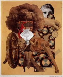 Hannah Hoch  The Beautiful Girl, 1920. Great analysis on website....