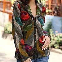 alpaca artisan sweater