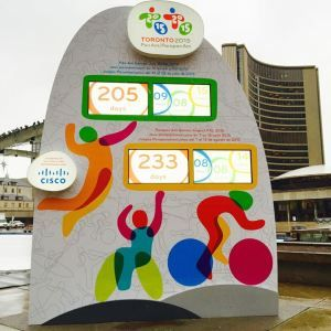 I'm so excited about the Pan Am Games coming to Toronto in summer 2015!
