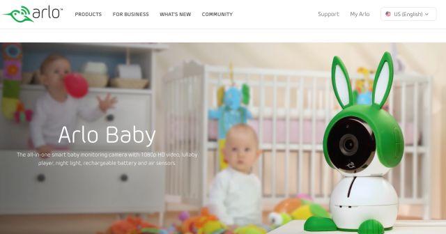 赤ちゃんの音と動きを感知してスマホにプッシュ通知してくれるベビーモニター「Arlo」 - THE BRIDGE(ザ・ブリッジ)