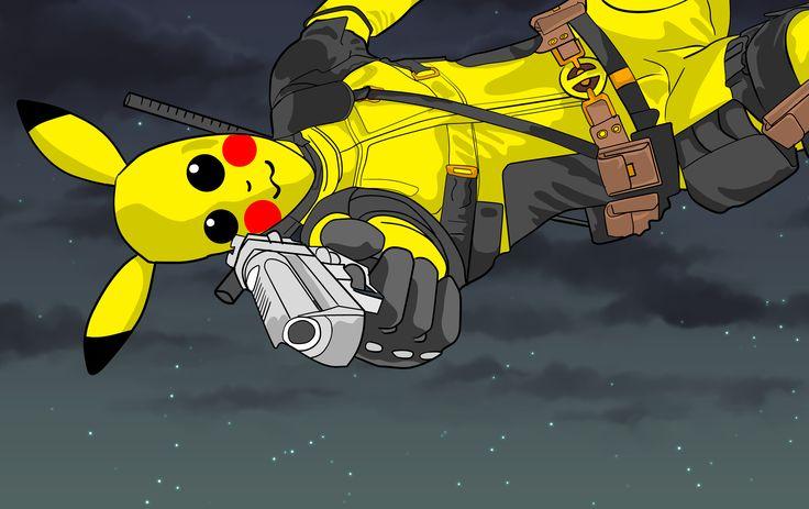 #deadpool #pikachu