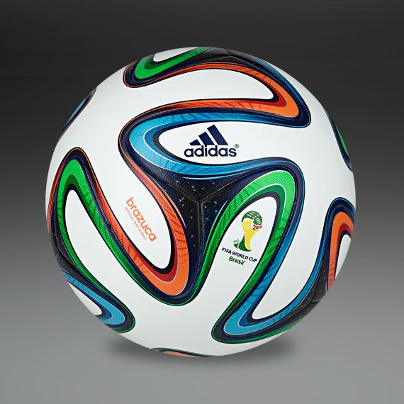 adidas Footballs - adidas Brazuca Official Match Ball - Football Balls - White-Night Blue