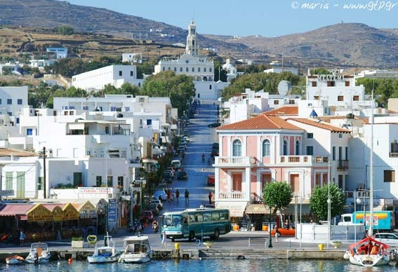 Tinos Greek Ferry guide - DANAE Greek Travel Services Online
