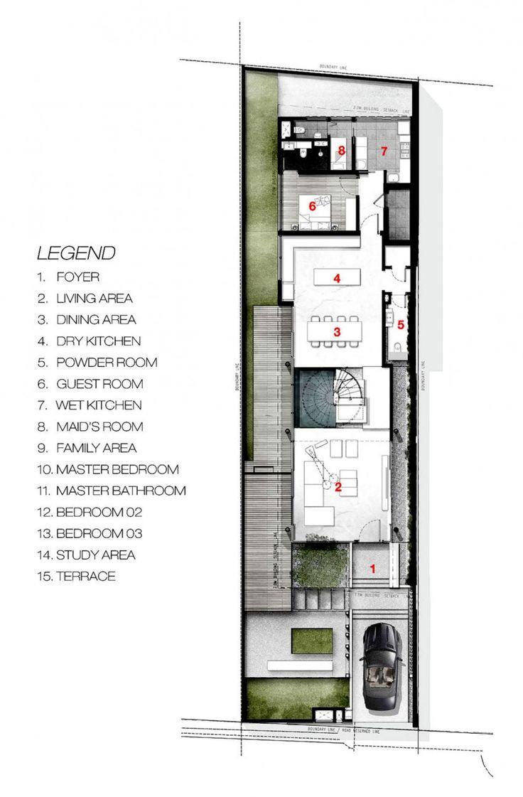 315 best 36 images on pinterest floor plans apartment greja house by park associates