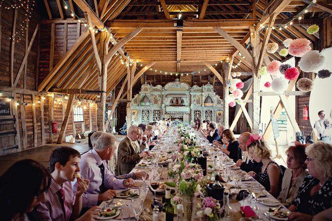 Really pretty reception  Magical Vintage Carousel DIY Wedding in Preston Court Part 2 | Bridal Musings