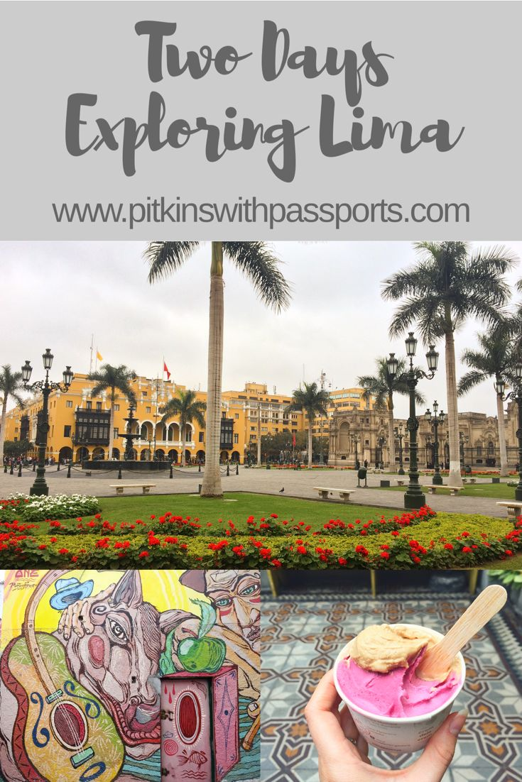 We had a great few days exploring Lima and particularly loved the Barranco area. See what else you can get up to in this cool city on our blog post!