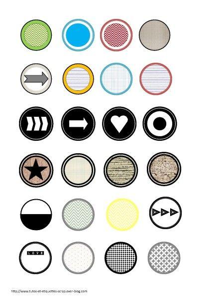 Extrêmement Plus de 25 idées uniques dans la catégorie Étiquettes rondes sur  YM01