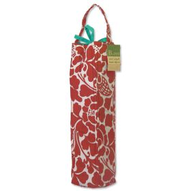 Organic Cotton :: Wine Bags :: Wine Bag Padded - Prada Red