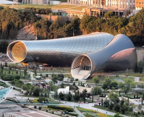 Rhike Park – Music Theatre and Exhibition Hall | FUKSAS