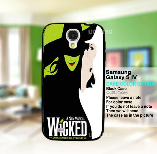 A New Musical WICKED - For Samsung Galaxy S4 Case | uCaser - Accessories on ArtFire
