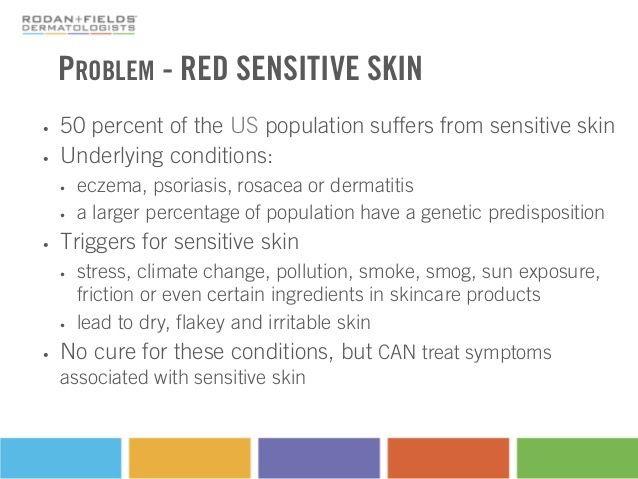 Red Sensitive Skin