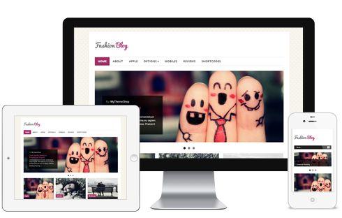 FashionBlog A Clean, Beuatiful Magazine Responsive WordPress Theme
