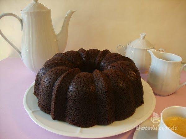 Bundt cake de chocolate super chocolatoso