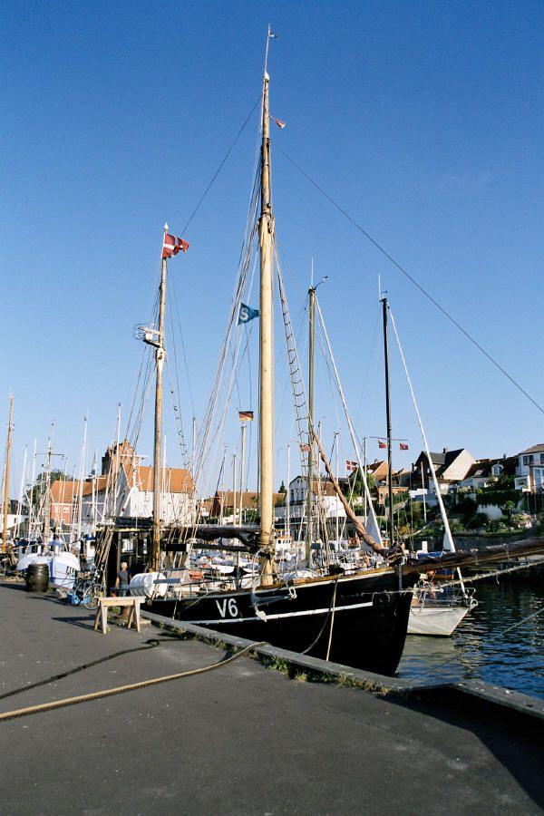 Middelfart havn, Denmark