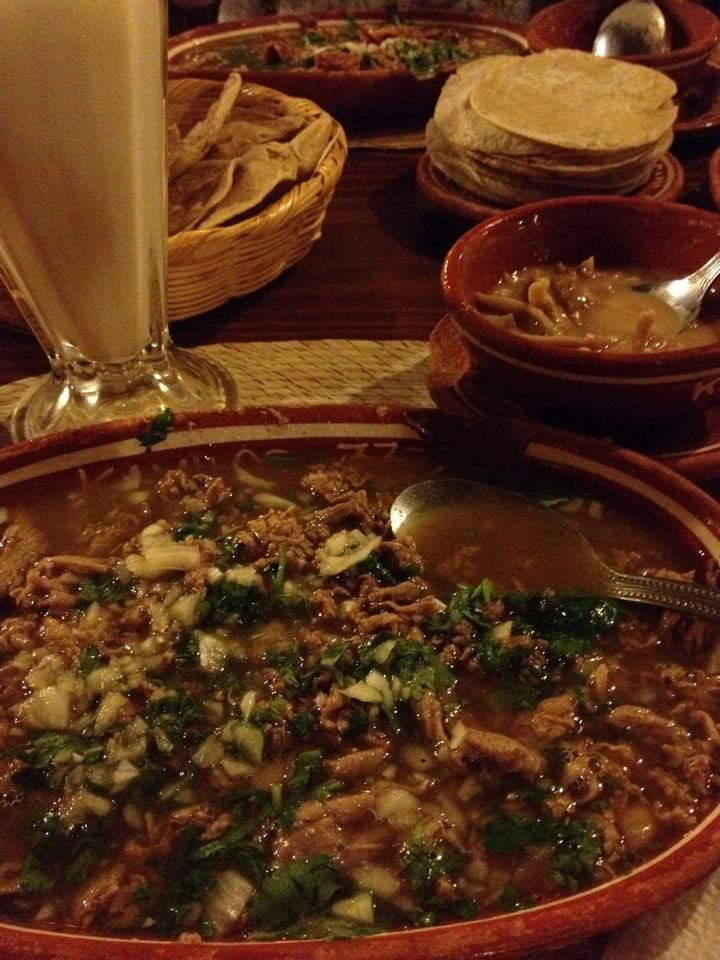 """Carne en su jugo"" is one of the most typical dishes from Guadalajara and although ""Carnes Garibaldi"" owns a Guinness Record, in my opinion, Kamilos 333 is better."