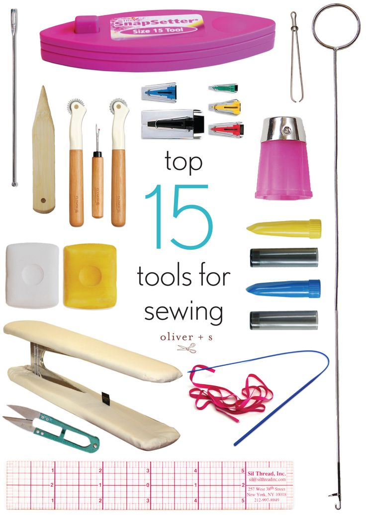 When putting together an essential sewing toolkit, here are fifteen tools to consider.