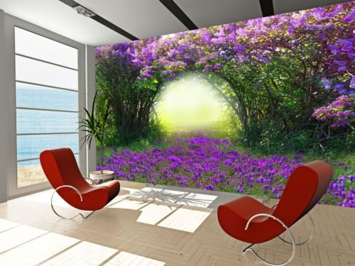 Magic-Spring-Forest-Wall-Mural-Photo-Wallpaper-GIANT-DECOR-Paper-Poster