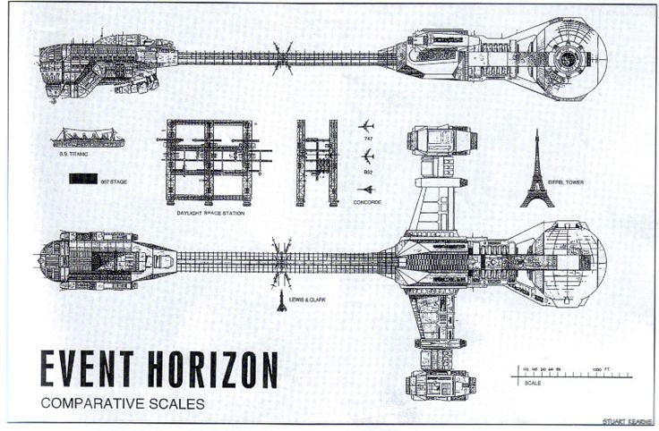 Event Horizon ship