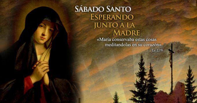 Sábado Santo con María