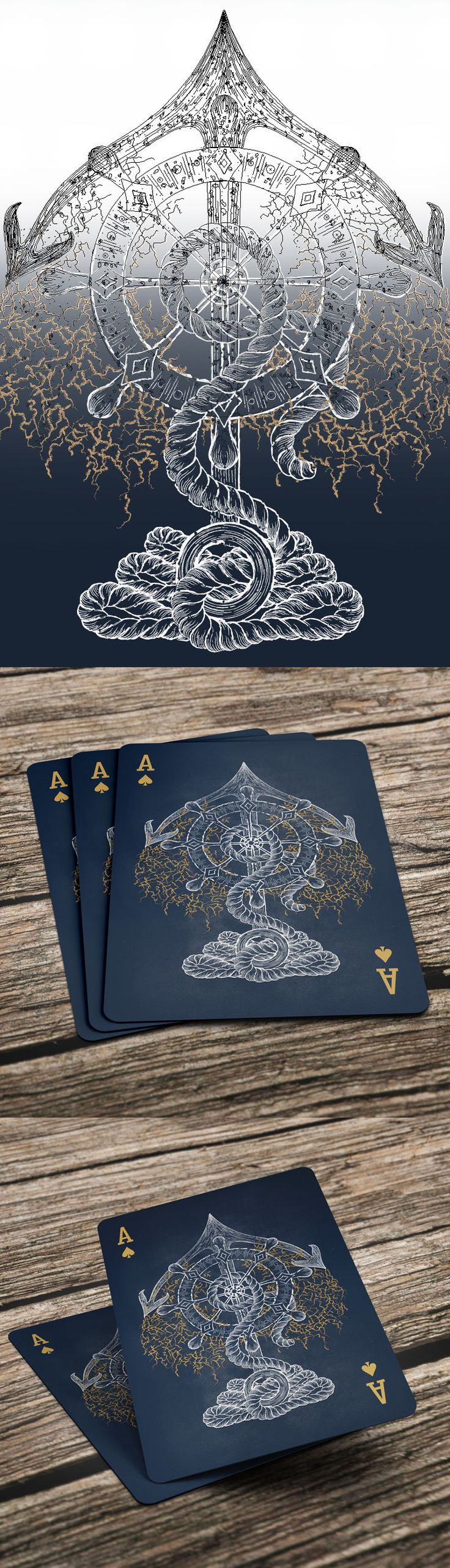 Ace of Spades - exclusive decks of cards for Ellusionist